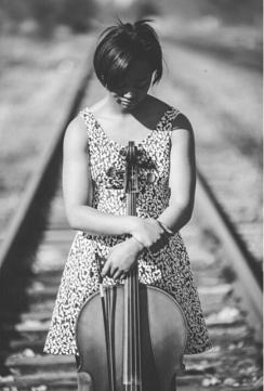Megan and cello